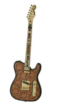 Greg Rich Telecaster Electric Guitar w Fender Pickups The Great Train Robbery | eBay