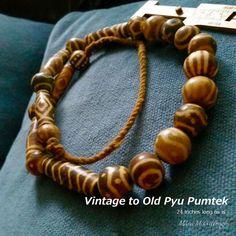 Vintage to old Pyu Pumtek necklace