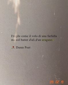 fragile as the flight of a butterfly but with the flutter of a hurricane Italian Phrases, Italian Quotes, French Quotes, Motivational Phrases, Inspirational Quotes, Instagram Caption Lyrics, Together Quotes, Cool Captions, Quotes About Everything