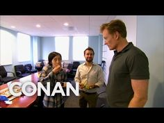 Conan Busts His Employees Eating Cake  - CONAN on TBS - http://abibiki.com/conan-busts-his-employees-eating-cake-conan-on-tbs/