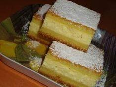 Placinta cu branza (cu foaie turnata) Finger Food Desserts, No Cook Desserts, Finger Foods, Dessert Recipes, Romanian Desserts, Romanian Food, Torte Cake, Food Cakes, Cheesecake Recipes
