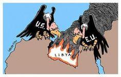 CNA: La OTAN bombardea de nuevo al PUEBLO LIBIO que no, a los YIHADISTAS