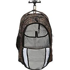 The JanSport Driver 8 is a full-size wheeled backpack, complete with a  padded 8659840eaa