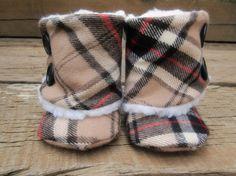 Burberry Baby Boots.. soooo cute