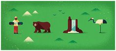 Monocle #69 - Japan Feature by MUTI, via Behance