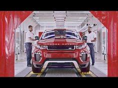 2017 Range Rover Evoque PRODUCTION in Brazil - YouTube