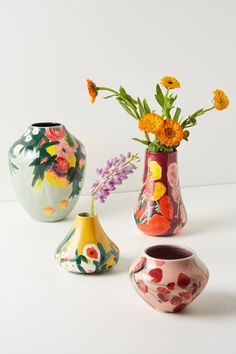 Anthropologie Home Small Lizzie Vase Pottery Vase, Ceramic Pottery, Ceramic Art, Thrown Pottery, Slab Pottery, Ceramic Bowls, Ceramic Decor, Vase Centerpieces, Vases Decor
