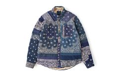 "visvim ""F.I.L. Indigo Camping Trailer"" Collection"