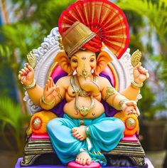 Ganesh Chaturthi Decoration, Happy Ganesh Chaturthi Images, Shri Ganesh Images, Ganesha Pictures, Ganesh Murti Images, Ganesh Wallpaper, Flower Wallpaper, Screen Wallpaper, Ganesh Idol
