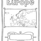 Make your own geography book while you study 50 countries of Europe. One country per page with its flag and map to colour in and information to re. Continents And Countries, Europe Continent, Capital City, Geography, Worksheets, Flag, Study, Colour, Country