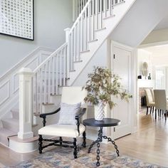 All white balustrade featured in @luxe