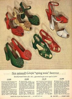 Forties shoes