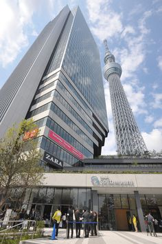 Public commercial facilities of the Tokyo Sky Tree. < http://www.apalog.com/report/archive/343 >