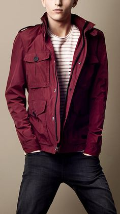 Sport Collection Heritage Field Jacket | Burberry