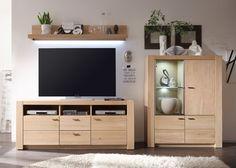 Wohnwand Madeira 3 Holz Eiche Bianco 9204 Buy Now At