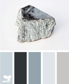 My designer palette runs toward what I like to call 'washed out ocean': grey-blues that aren't quite pastel (gag), and aren't quite industrial.