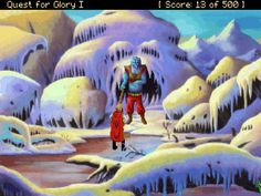 Frost giant from Quest for Glory I