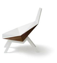 Honey Chair, lounge chair, design Thomas, producer: Holzwerkstatt Rehberger, Austria