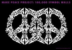 FREE NEW MAKE PEACE TATTOO DESIGNS: new Make Peace symbol for all, dozens of new make peace designs