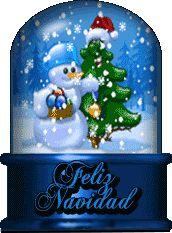 Imágenes De Navidad Y Año Nuevo: Muñeco De Nieve En Navidad