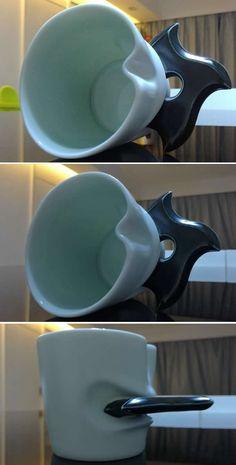 Porcelain Coffee Mug with Ninja Dart Handle Coffee Time, Tea Time, Coffee Mugs, Iran Food, Earth Drawings, Funny Picture Jokes, Tech Gadgets, Mug Cup, Anime Stuff