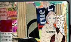 new moleskine page by artjunkgirl, via Flickr