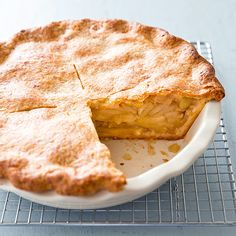 What's better than a piece of apple pie with a slice of cheddar melted on top? Try a recipe with cheese baked right into the crust