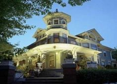 The Lion and the Rose Victorian Bed & Breakfast Inn located in Asheville, North Carolina is listed in the majestic 1906 Queen Anne mansion is listed on the National Register of Historic Places