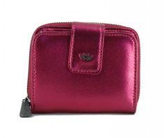 !!!kompakte Damenbörse pink Metallic Fritzi Preußen Viola Orchid Zip Around Wallet, Pink, Fashion, Pocket Wallet, Artificial Leather, Bags, Women's, Moda, Fashion Styles