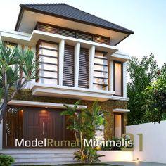 Rumha mInimalis elegan 2 lantai #Rumah #DesainRumahMinimalis #Rumah2Lantai #RumahIdaman