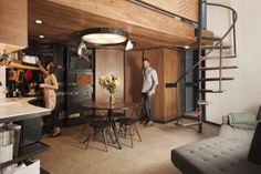 This is a 190 sq. ft. modern grain silo tiny house. It was professionally designed and renovated by architect Christoph Kaiser. This tiny home was originally featured on Dwell. Please enjoy and re-...