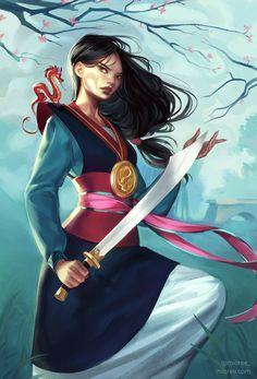 Fa Mulan by mior3e.deviantart.com on @DeviantArt
