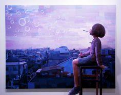「はじまりの終わり」/ ''The end of the beginning'', 2010, panting, polystyrene based sculpture