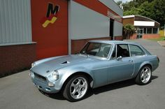 The MGB is a real British icon, loved by many for over five decades now. It's image, however, is shaped mainly around the typical MG enthusiast. Old, boring and purist. I happened to have acquired British Sports Cars, Classic Sports Cars, Classic Cars, Power Bike, Classic Pickup Trucks, Cars Uk, Sport Cars, Motor Car, Cars