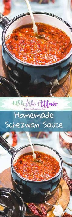 Schezwan SauceRecipe is one of the most popularly used ingredients in Indo-Chinese cuisine. Instead of settling for store bought sauce, why not make your own version of this flavourful sauce?  #Asian #IndoChinese #Sauce via @WhiskAffair