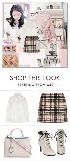 """Something about lovely .."" by rainie-minnie ❤ liked on Polyvore featuring Alberta Ferretti and Fendi"
