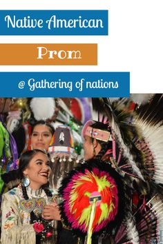 Learn more about prom activities at Gathering of Nations. See how Native Americans celebrate prom in their culture. #nativeamericans #powwow #powwows