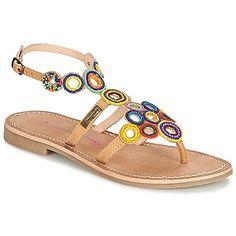 Sandale Les Tropéziennes par M Belarbi OFELIE Beige / Multicolore