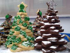 Christmas Biscuits, Christmas Cookies, Christmas Ideas, Gingerbread Cookies, Trees, Desserts, Food, Holidays, Xmas Cookies
