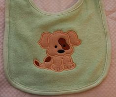Baby Puppy Dog patch over eye spot Applique by AppliquetionStation
