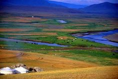 Located in the northern part of the country, high above sea level, Ulaanbaatar is the coldest capital city in the world. An ocean of green, Mongolia is the most sparsely populated country in the world.