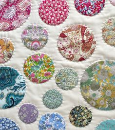 circle quilt applique tutorial