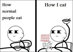 What it's like owning cats.  Somehow, I have a pretty good idea why dead crazy cat ladies get eaten.