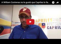 """Capriles llama a Willian Contreras """"delincuente"""" con sinónimos  http://www.facebook.com/pages/p/584631925064466"""