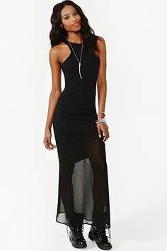 Vanishing Point Maxi Dress