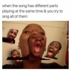 Yup that's me when I listen to my Jesus music
