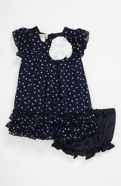 Pippa & Julie Polka Dot Dress (Infant) available at Nordstrom