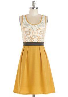 Fanciful Forsythia Dress | Mod Retro Vintage Dresses | ModCloth.com