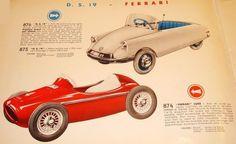 FERRARI F2 500 MIT PATINA,1959, TRETAUTO PEDAL CAR von MG France   eBay
