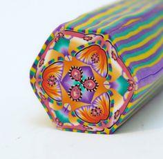 Kaleidoscope cane LOOKS LIKE BUTTERFLIES...;0)